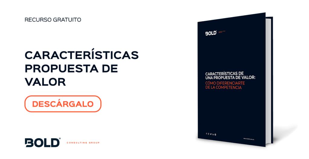 Descargable Bold-Características propuesta de valor