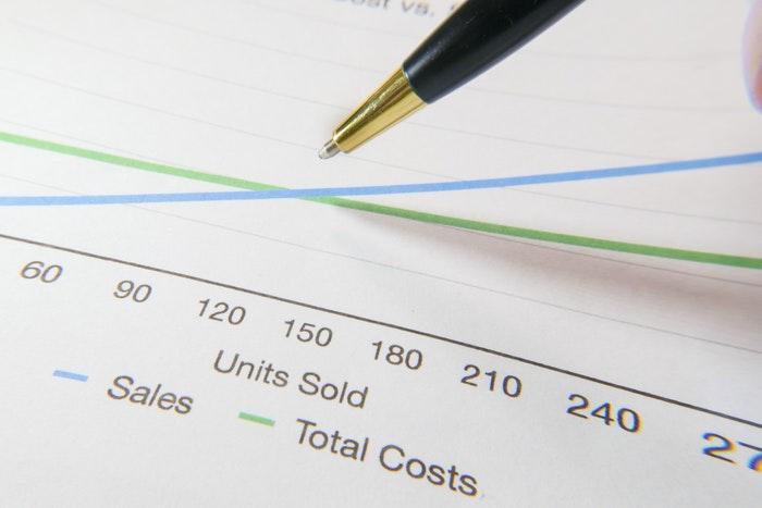 El volumen de ventas que afecta el punto de equilibrio